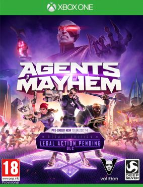 Copertina del gioco Agents of Mayhem per Xbox One