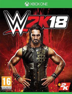 Copertina del gioco WWE 2K18 per Xbox One