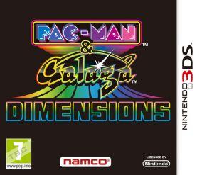 Copertina del gioco Pac Man & Galaga Dimensions per Nintendo 3DS