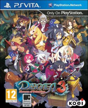 Copertina del gioco Disgaea 3: Absence of Detention per PSVITA