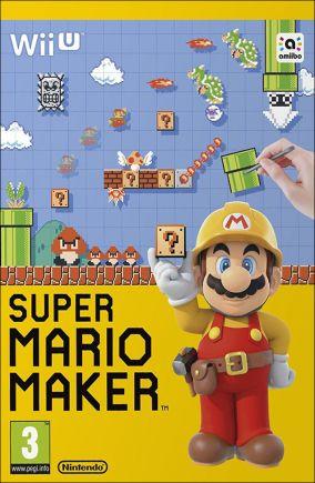 Copertina del gioco Super Mario Maker per Nintendo Wii U
