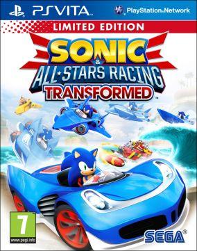 Copertina del gioco Sonic & All Stars Racing Transformed per PSVITA