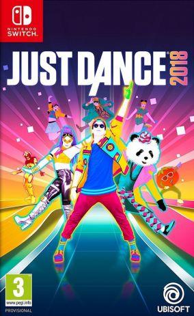 Copertina del gioco Just Dance 2018 per Nintendo Switch
