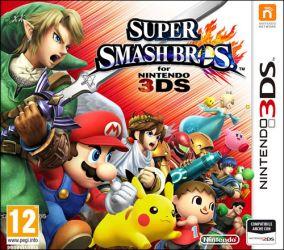 Copertina del gioco Super Smash Bros per Nintendo 3DS