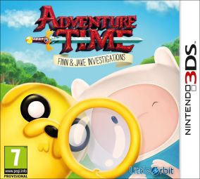 Copertina del gioco Adventure Time: Finn e Jake detective per Nintendo 3DS