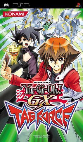 Copertina del gioco Yu-Gi-Oh! GX Tag Force per Playstation PSP
