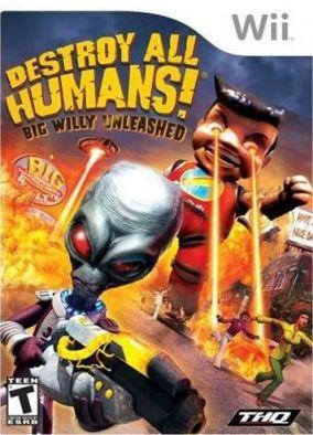 Copertina del gioco A Caccia di Umani! Big Willy Alla Riscossa per Nintendo Wii