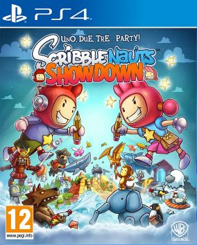 Copertina del gioco Scribblenauts: Showdown per Playstation 4