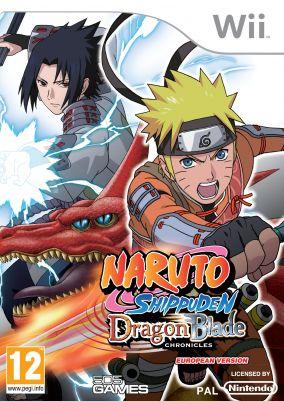 Copertina del gioco Naruto Shippuden: Dragon Blade Chronicles per Nintendo Wii