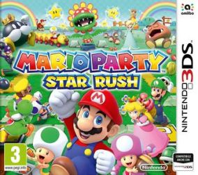 Copertina del gioco Mario Party Star Rush per Nintendo 3DS