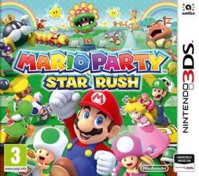 Immagine della copertina del gioco Mario Party Star Rush per Nintendo 3DS