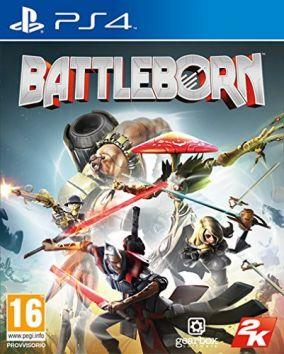 Immagine della copertina del gioco Battleborn per Playstation 4