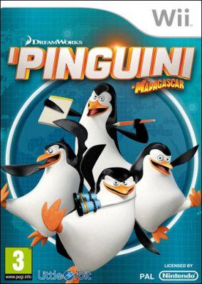 Copertina del gioco I Pinguini di Madagascar per Nintendo Wii