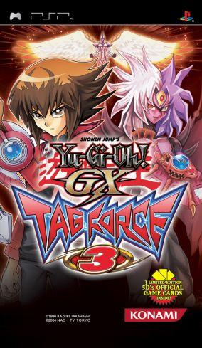 Immagine della copertina del gioco Yu-Gi-Oh! GX Tag Force 3 per Playstation PSP