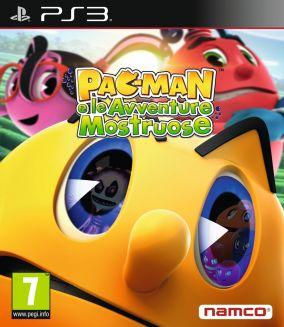 Copertina del gioco PAC-MAN e le Avventure Mostruose  per Playstation 3