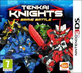 Copertina del gioco Tenkai Knights: Brave Battle per Nintendo 3DS