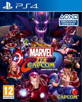 Copertina del gioco Marvel Vs. Capcom: Infinite per Playstation 4