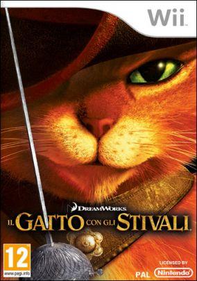Copertina del gioco Il Gatto con Gli Stivali per Nintendo Wii