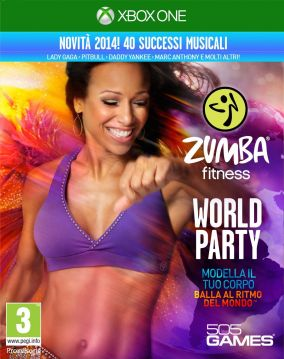 Copertina del gioco Zumba Fitness : World Party per Xbox One