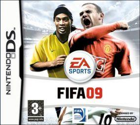 Immagine della copertina del gioco FIFA 09 per Nintendo DS