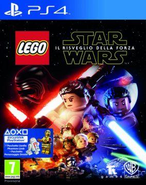 Immagine della copertina del gioco LEGO Star Wars: Il risveglio della Forza per Playstation 4