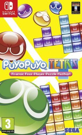 Copertina del gioco Puyo Puyo Tetris per Nintendo Switch