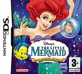 Copertina del gioco La Sirenetta: Ariel e le Avventure Sottomarine per Nintendo DS