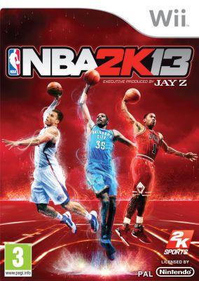 Immagine della copertina del gioco NBA 2K13 per Nintendo Wii
