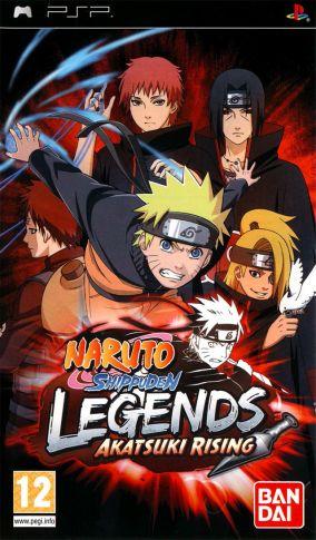 Immagine della copertina del gioco Naruto Shippuden: Legends: Akatsuki Rising per Playstation PSP