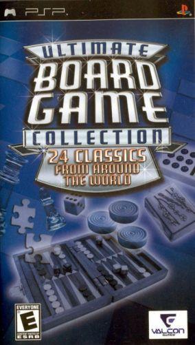 Copertina del gioco Ultimate Board Game Collection per Playstation PSP