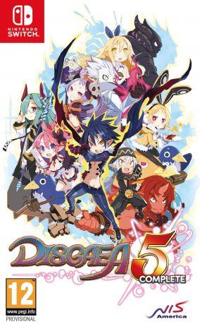 Immagine della copertina del gioco Disgaea 5 Complete per Nintendo Switch