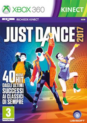 Immagine della copertina del gioco Just Dance 2017 per Xbox 360