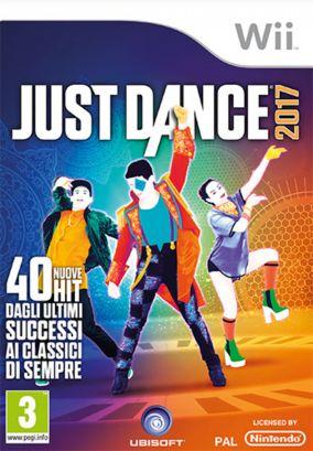 Immagine della copertina del gioco Just Dance 2017 per Nintendo Wii