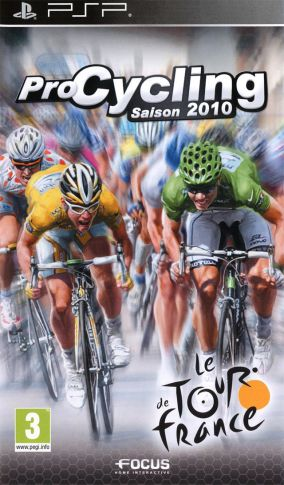 Copertina del gioco Pro Cycling Manager - Tour De France 2010 per Playstation PSP
