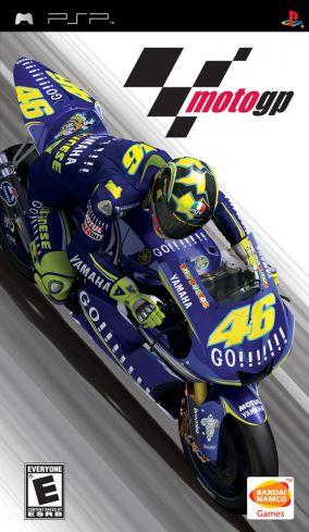 Immagine della copertina del gioco MotoGP per Playstation PSP