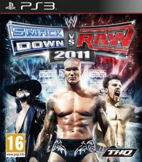 Immagine della copertina del gioco WWE Smackdown vs. RAW 2011 per Playstation 3