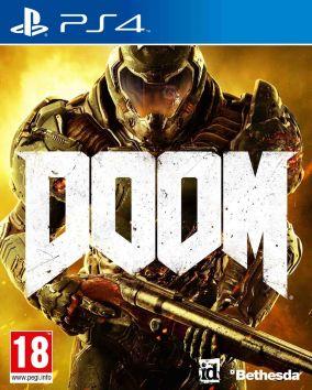 Immagine della copertina del gioco Doom per Playstation 4