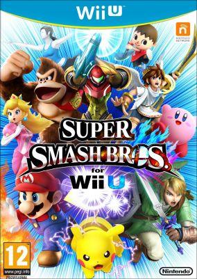 Copertina del gioco Super Smash Bros per Nintendo Wii U