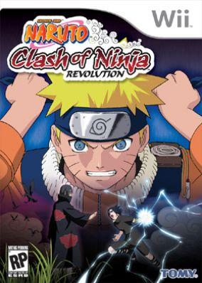 Copertina del gioco Naruto: Clash of Ninja Revolution per Nintendo Wii