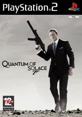 Copertina del gioco James Bond: Quantum of Solace per Playstation 2