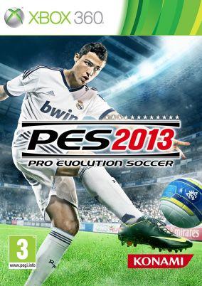 Immagine della copertina del gioco Pro Evolution Soccer 2013 per Xbox 360