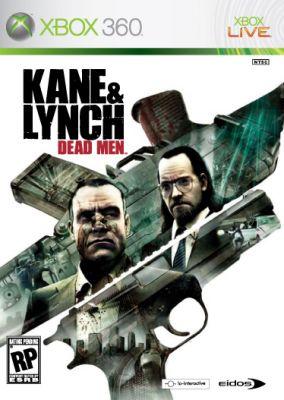 Copertina del gioco Kane & Lynch: Dead Men per Xbox 360