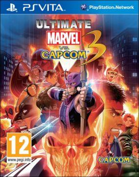 Copertina del gioco Ultimate Marvel vs Capcom 3 per PSVITA