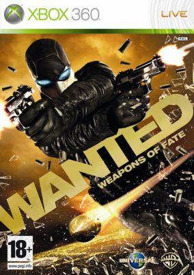 Copertina del gioco Wanted: Weapons of Fate per Xbox 360