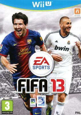 Immagine della copertina del gioco FIFA 13 per Nintendo Wii U