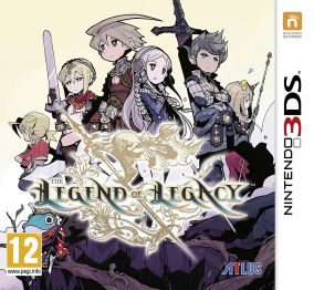 Copertina del gioco The Legend of Legacy per Nintendo 3DS
