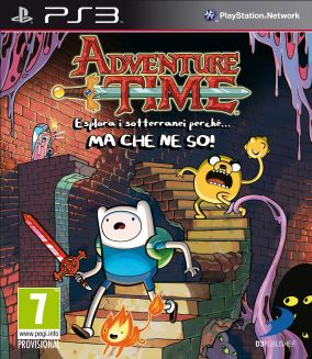Copertina del gioco Adventure Time: Esplora i sotterranei perche'... MA CHE NE SO per Playstation 3