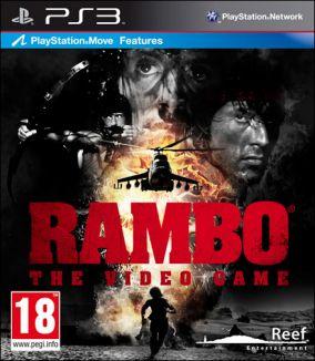 Copertina del gioco Rambo: The videogame per Playstation 3