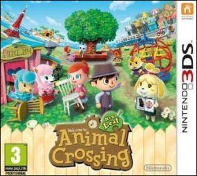 Immagine della copertina del gioco Animal Crossing: New Leaf per Nintendo 3DS