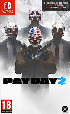 Copertina del gioco Payday 2 per Nintendo Switch